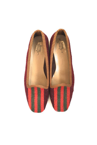 ARTEMIS Ladies Kilim Flat size 39 Stripes