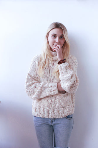 Relaxed Chunky Knit Sweater