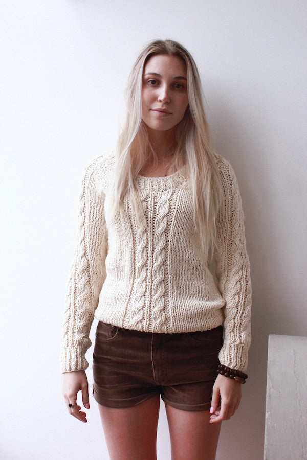 Knit Cable Sweater