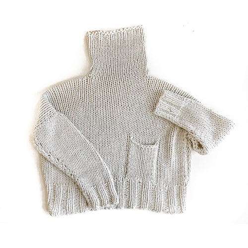 Relaxed Knit in Ivory