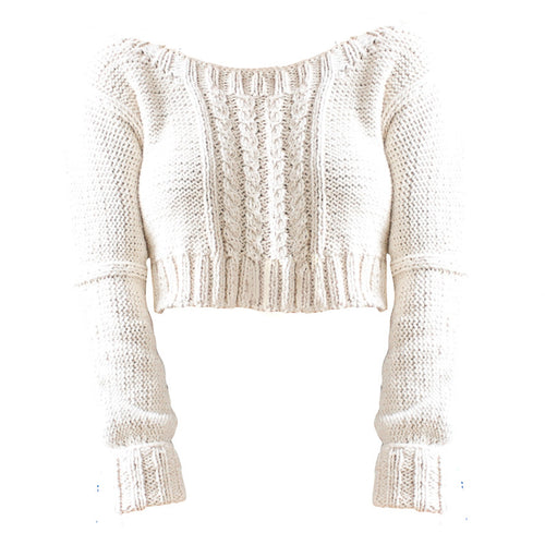 Cotton Crop Sweater