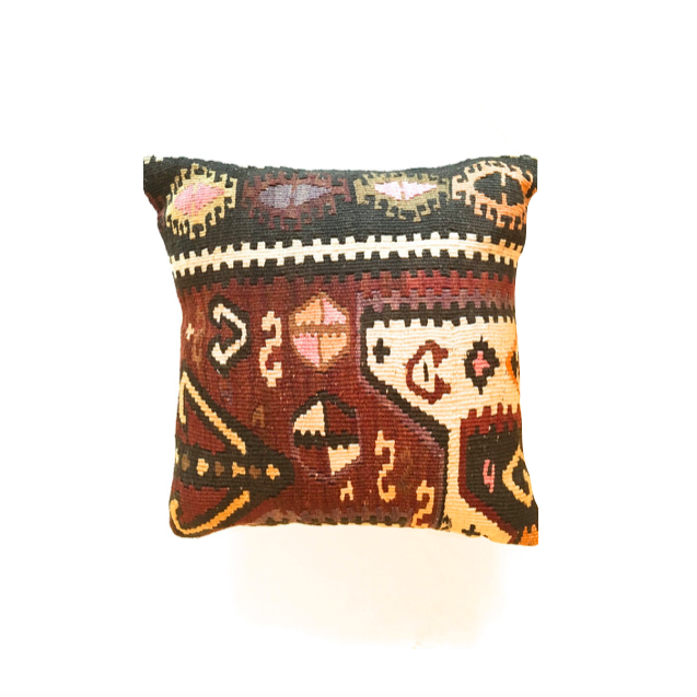 Kilim Pillow No. 7 - Mick & Kip