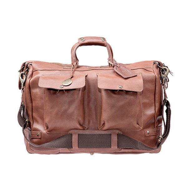 Leather Travel Duffle