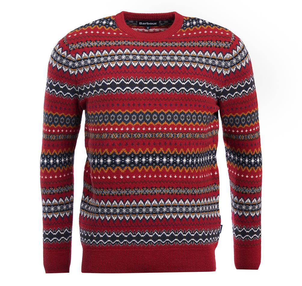 Fairisle Crew Sweater