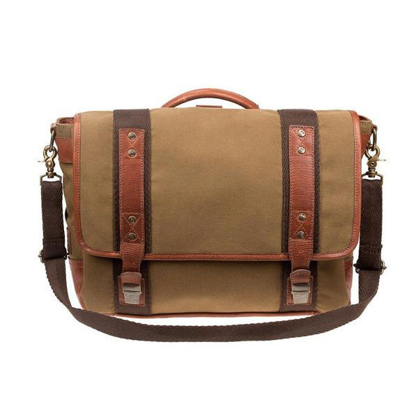 Vernon Messenger Backpack // Field Tan - Mick & Kip