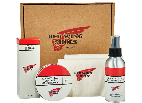 Oil-Tanned Leather Care Kit