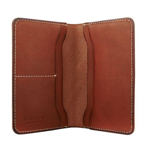 Passport Wallet, Dark Brown