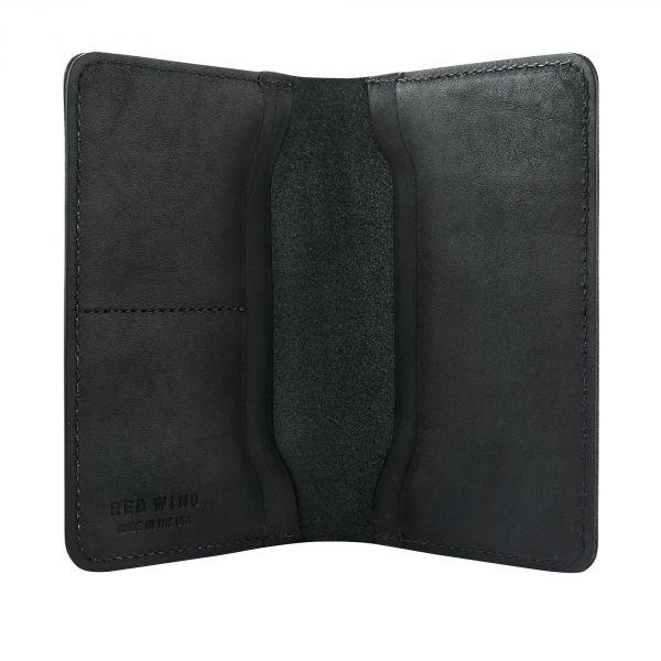 Passport Wallet, Jet Black