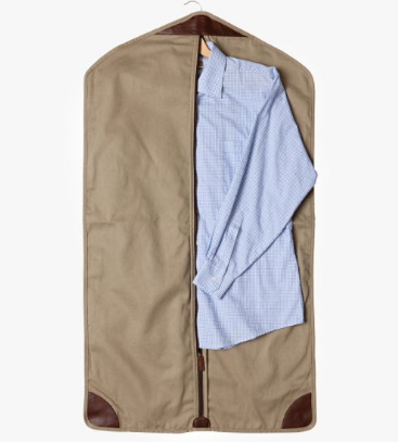 Holton Garment Sleeve // Brushed Twill Tan - Mick & Kip - 2