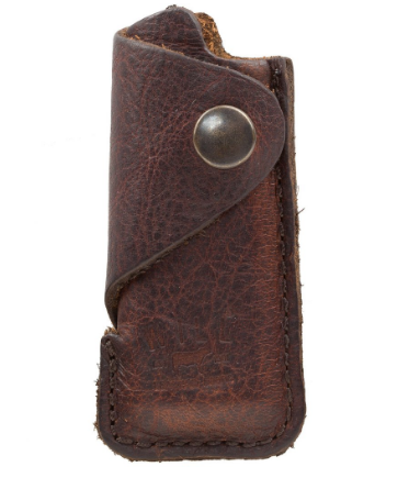 Leather Lighter Cover, Brown
