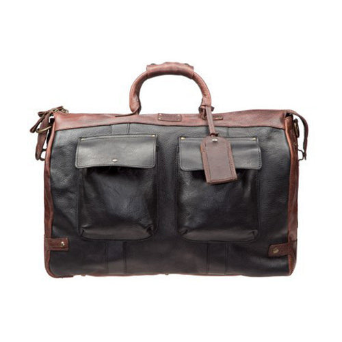 Leather Travel Duffle // Two Tone - Mick & Kip