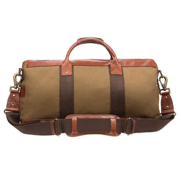 Atticus Duffle // Tobacco + Saddle - Mick & Kip