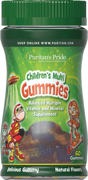 Children's Multivitamins & Minerals Gummy 60 gummies