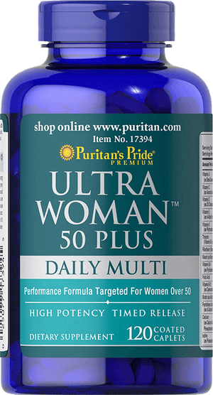 Ultra Woman™ 50 Plus Multi-Vitamin 120 Caplets