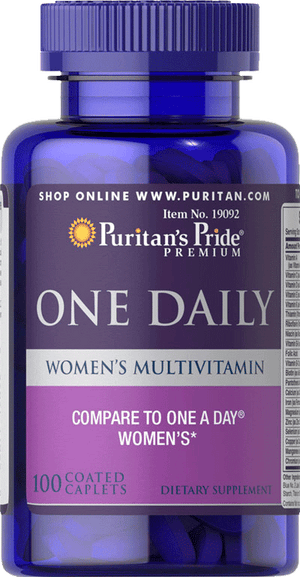One Daily Women's Multivitamins 100 caplets