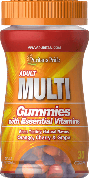 Puritan's Pride Adult Multivitamin 30 Gummies