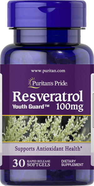 Resveratrol 100 mg 30 softgels