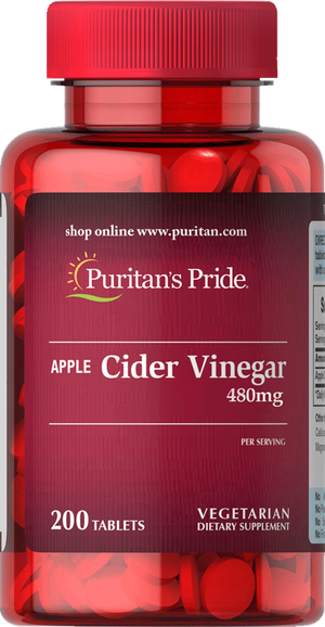 Apple Cider Vinegar 240mg 200 tablets | Puritan's Pride