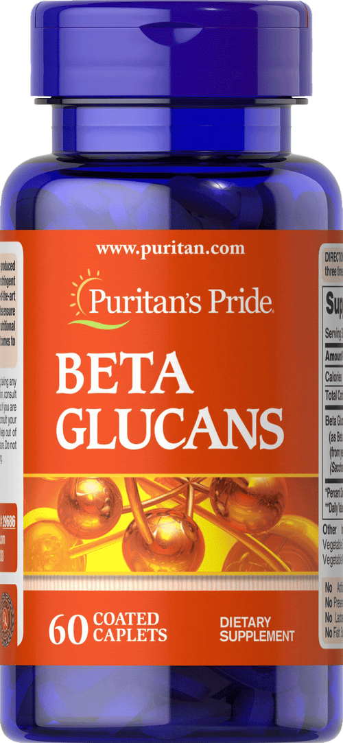 Beta Glucans 200 mg 60 caplets