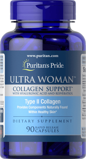 Ultra Woman™ Collagen Support with Hyaluronic Acid and Resveratrol