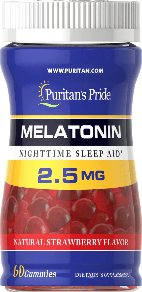 Melatonin 2.5 mg 60 gummies