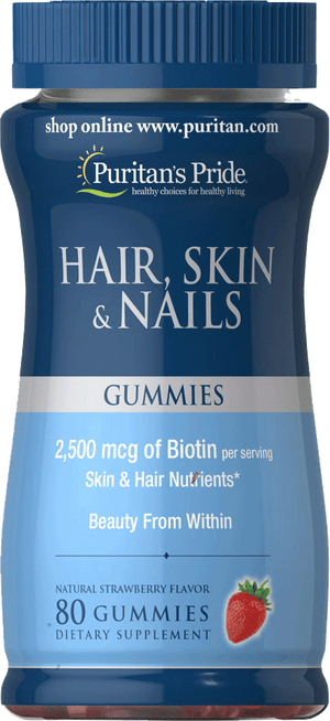 Hair, Skin & Nails Gummy 80 gummies