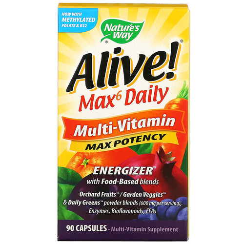 Nature's Way Alive Max6 Daily 90 capsules