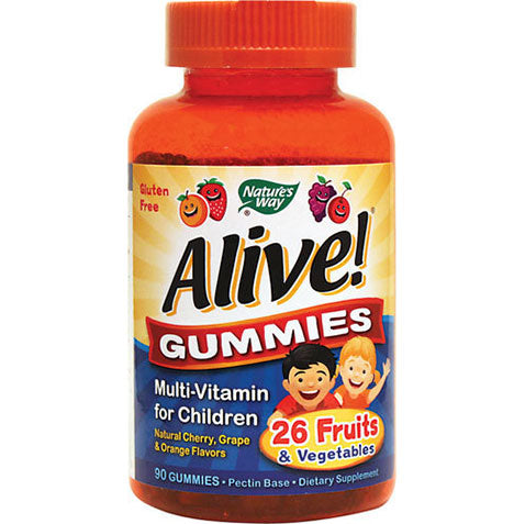 Alive Children's Multivitamin Gummies 90 gummies | Nature's Way