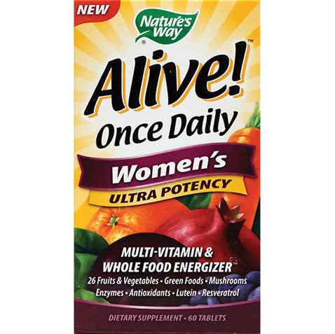 Alive Once Daily Women's Ultra Potency 60 tablets | Nature's Way