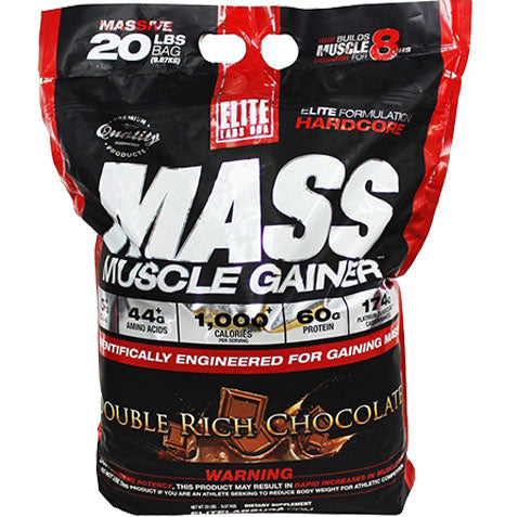 Mass Gainer 20 lbs, Chocolate | Elite Labs
