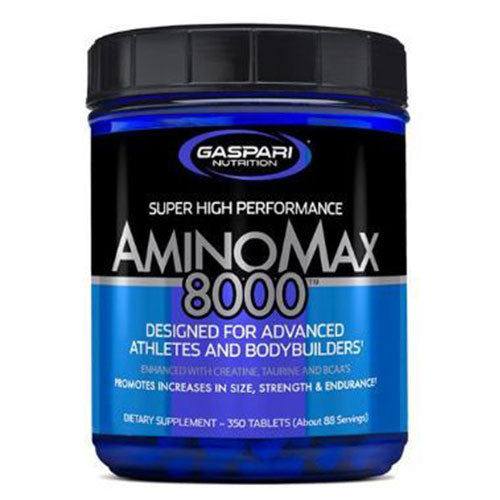 Amino Max 8000 350 tablets | Gaspari Nutrition