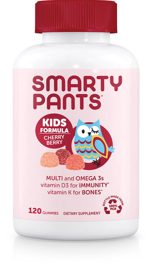SmartyPants Vitamins Kids Formula Cherry Berry 120 gummies