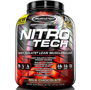 Nitro Tech Performance Chocolate 4 lbs | MuscleTech