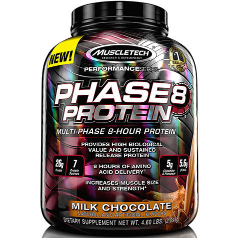 Phase 8 8 Hour Protein 4 lbs | MuscleTech