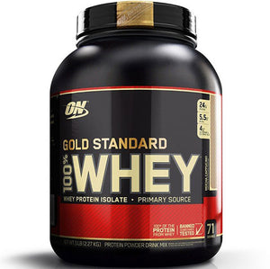 ON Gold Standard 100% Whey, Mocha Cappuccino, 5 lbs | Optimum Nutrition