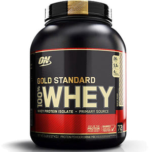 ON Gold Standard 100% Whey, Rocky Road, 5 lbs | Optimum Nutrition