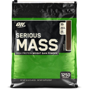 ON Serious Mass, Chocolate, 12 lbs | Optimum Nutrition