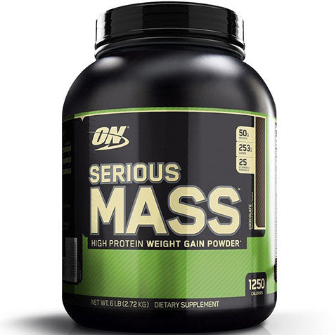 ON Serious Mass, Chocolate, 6 lbs | Optimum Nutrition