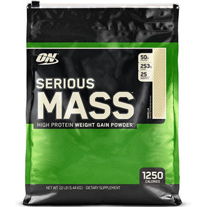 ON Serious Mass, Vanilla, 12 lbs | Optimum Nutrition