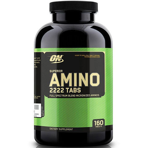 ON Superior Amino 2222, 160 tablets | Optimum Nutrition