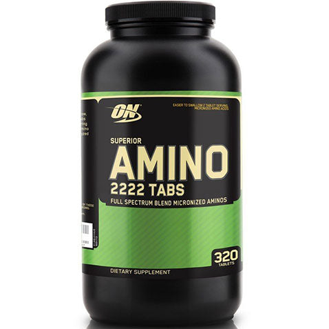 ON Superior Amino 2222, 320 tablets | Optimum Nutrition