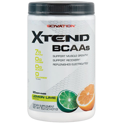 Xtend 410 grams 30 servings, Lemon Lime | Scivation