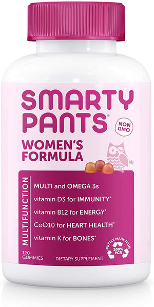 SmartyPants Vitamins Women's Formula 120 gummies