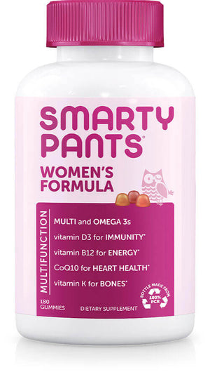 SmartyPants Vitamins Women's Formula 180 gummies