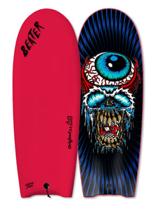 "Catch Surf UK - ...Lost 54"" Beater - Eyeball Red - Finless"