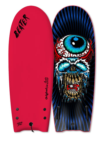 "Catch Surf UK - ...Lost 54"" Beater - Eyeball Red - Twin Fin"