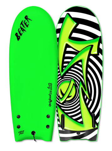 "Catch Surf UK - ....Lost 54"" Beater - Spiral Lime Green - Twin Fin"