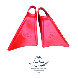 US Fin Co - Swim Fins - Red - Catch Surf UK