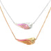 Shell Angel Wing Necklace GodDaughters Jewelry