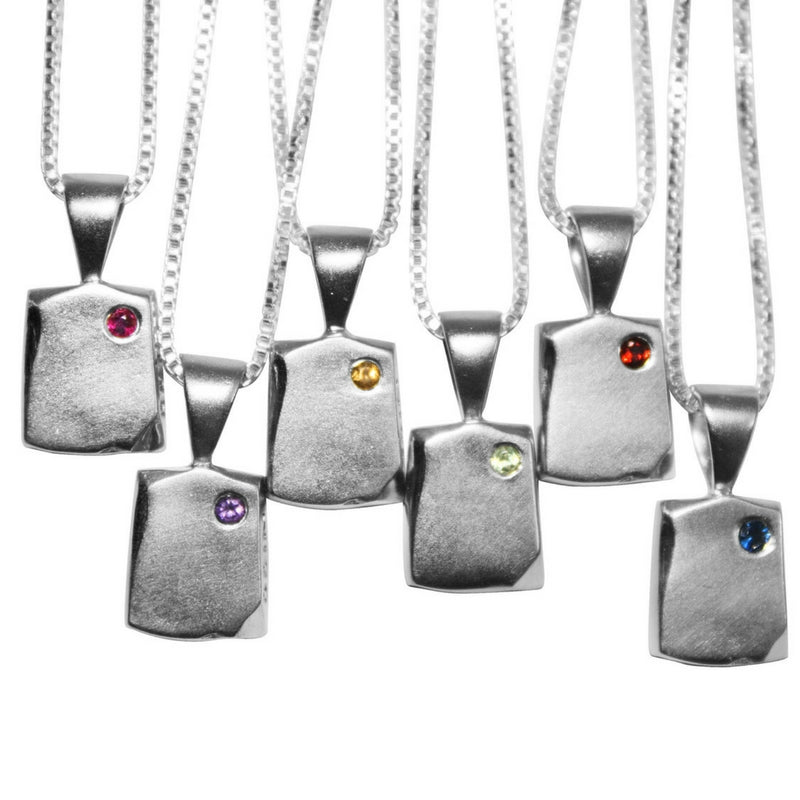 ewelry that celebrates New Beginnings Odin Petite Personalized Sterling Silver Necklace